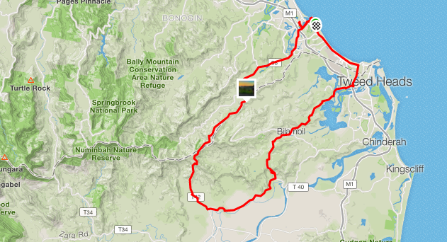Cycling Border Ranges - My Name is April