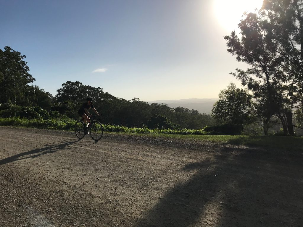 The views are incredible. Cycling blog - My Name is April